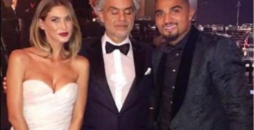 """Botë e """"padrejtë""""/Boateng 100 mijë euro Andrea Boçelit ti këndojë në dasëm"""