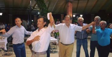 Festa e PS, Koçon e presin me këngë dhe valle në Finiq