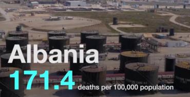 Video/ Shqipëria ndër 10 vendet me ajrin më të ndotur në botë