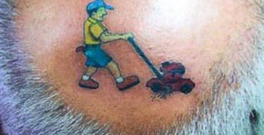 Foto-Galeri/ Disa nga tatuazhet më qesharake në botë
