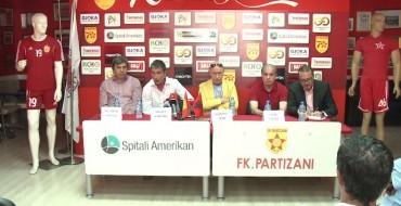 Prezantohet trajneri i ri i Partizanit, Adolfo Sormani