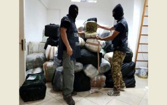 Sekuestrohet 1.2 ton drogë në Itali, arrestohen 4 shqiptarë