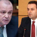 Kryetari i ILDKP Adriatik Llalla, gjate nje takimi mes krereve te Ministrise se Brendshme dhe drejtuesve te misionit PAMECA, ne hotel Sheraton.