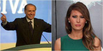 Deklarata  bomb  e Berlusconit  nga Trump më pëlqen vetëm gruaja e tij