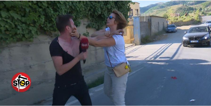 """Dhunoi gazetarin e """"STOP"""", shpallet në kërkim administratorja Mirela Topulli"""