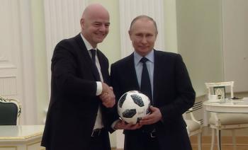 Video  Fillon numërimi mbrapsht  edhe 100 ditë nga nisja e  Rusi 2018