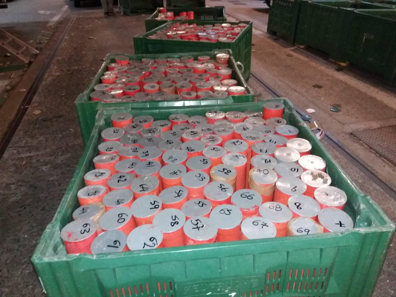 226 kg kanabis në cilindra nga Shqipëria në Turqi përmes Maqedonisë