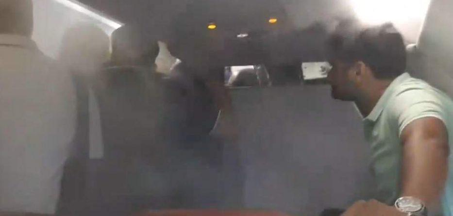 Video/ Panik në avion