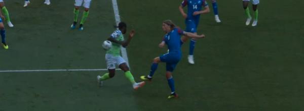 Nigeria mposht Islandën