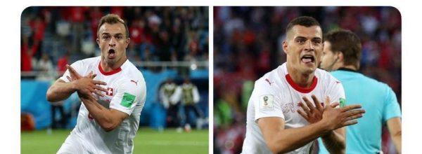 """Mediat prestigjioze botërore pasqyrojnë golat e Xhakës dhe Shaqirit: """"Paralizojnë Serbinë"""""""