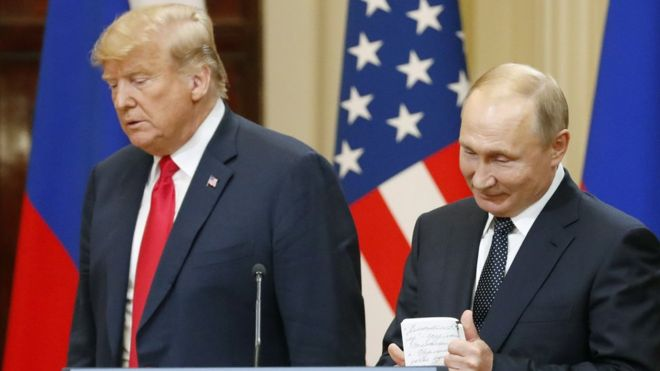 Trump mban anën e Putin dhe hedh poshtë FBI-në pas samitit në Helsinki: Rusia nuk ka pse të ndërhyjë në SHBA