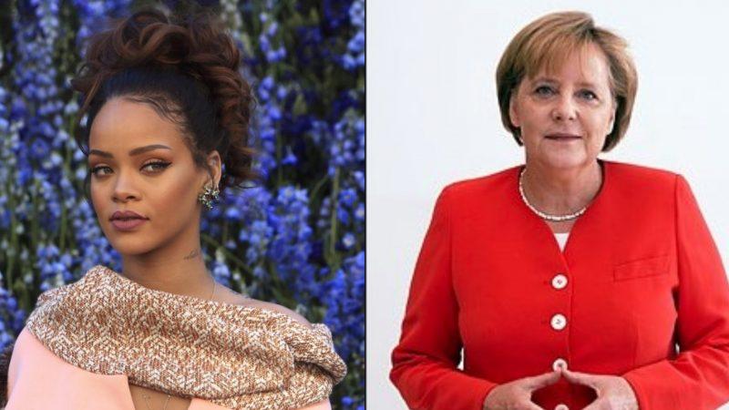 Rihanna i kërkon ndihmë kancelares Angela Merkel  ja çfarë i lidh ato