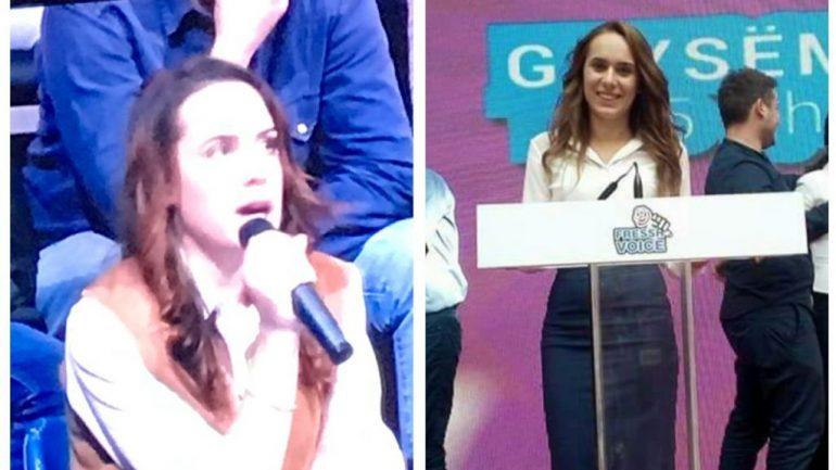 Të rinjtë e PS-së që përfaqësojnë studentët në debatin me Ramën