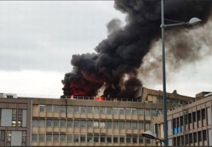 Video  Shpërthim i fuqishëm në Universitetin e Lionit në Francë