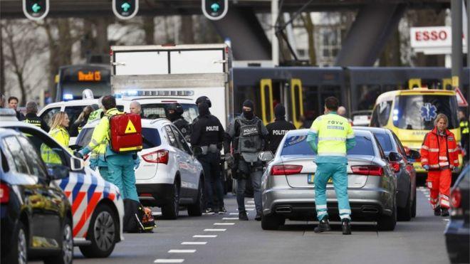 Tre viktima nga sulmi me armë në Holandë