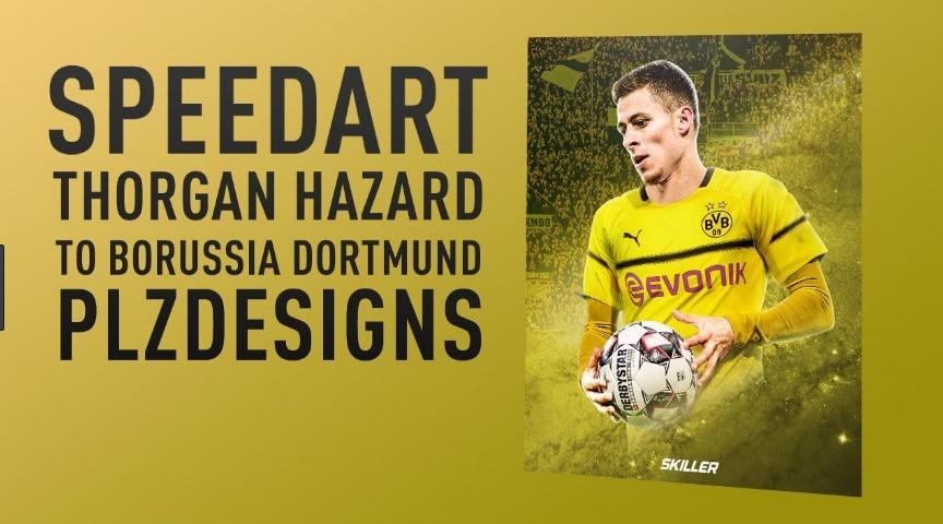 Hazard nënshkruan për Dortmund