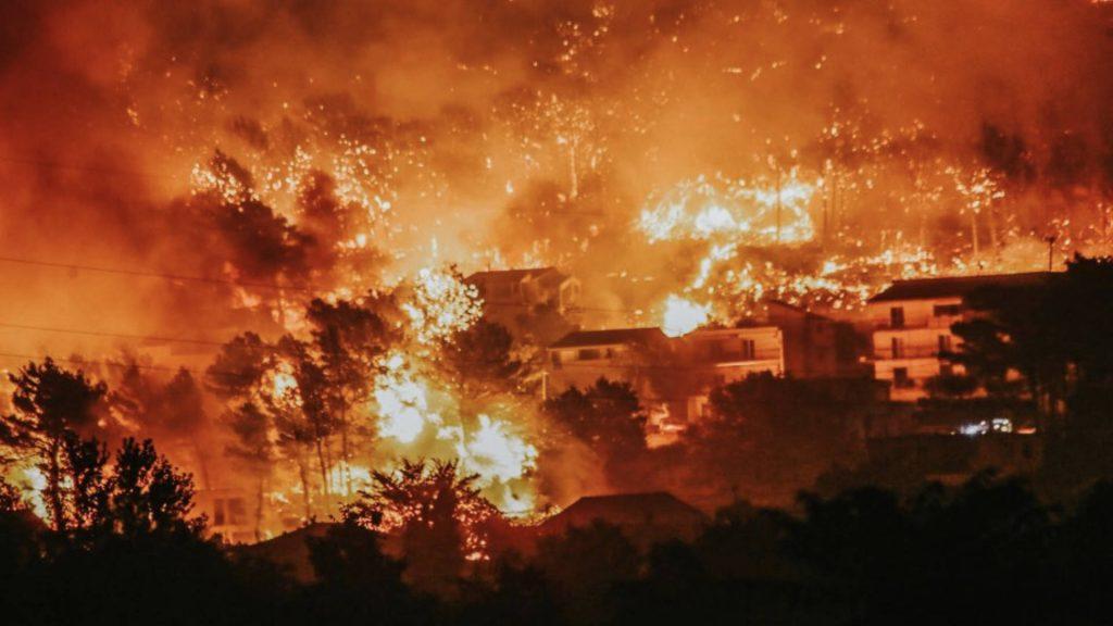 Zjarr në festivalin e famshëm  pjesëmarrësit largohen të frikësuar