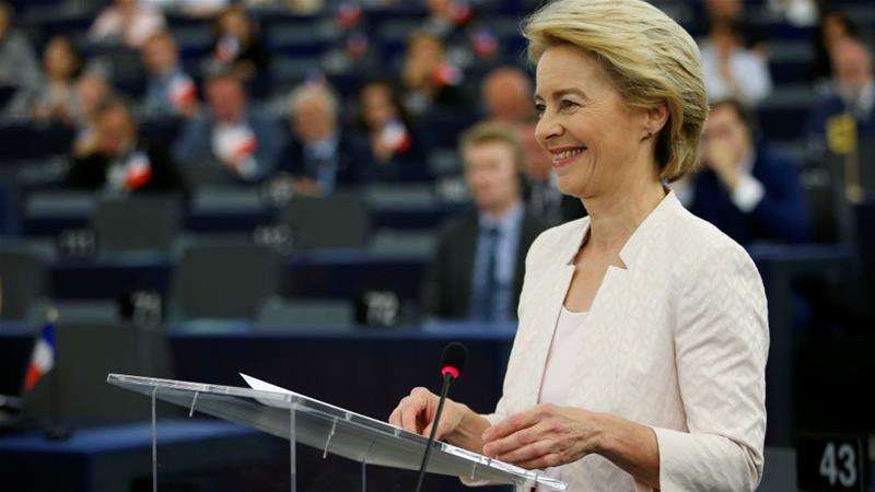 Ursula Von der Leyen zgjidhet në krye të Komisionit Europian