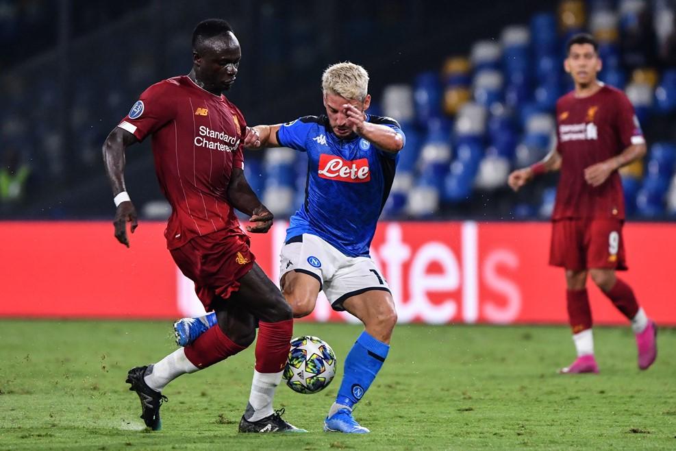 Liverpool i dobët para Napolit  Barcelonë paqe me Dortmund in