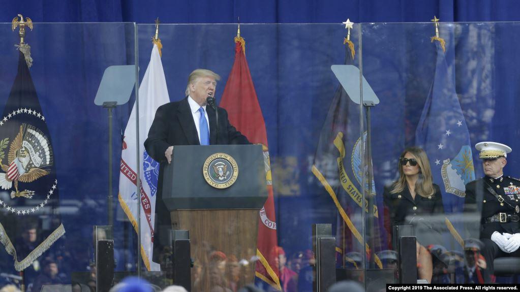 Hetimet  Trump sulmon Kongresin